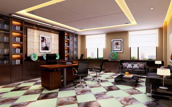 H1拼香槟咖啡办公室地板